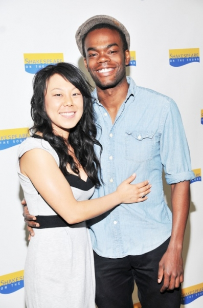 Ali Ahn and William Jackson Harper