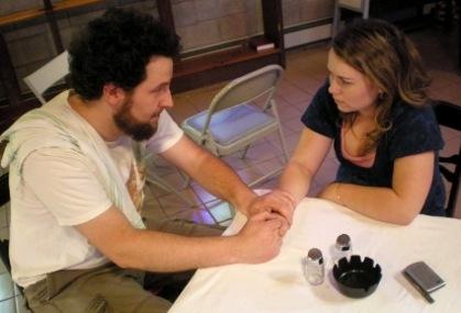 David Widmayer as Adam and Maggie Tibus as Janet