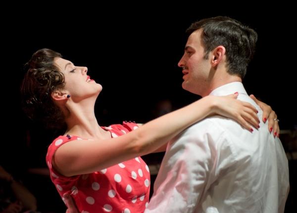 Effie (Grace Rex) dances with her husband Franklin (Jurgen Hooper) in LIFE AND LIMB