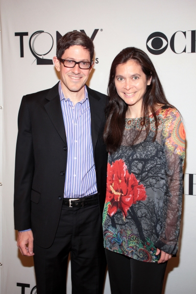 Randi Weiner, Diane Paulus at Inside the Tonys Eve Cocktail Party!