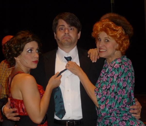 Michelle Valenti, Carl Blunt and Marilyn Fair