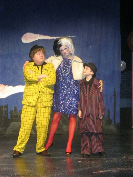 Patrick Long, Ryan Bowie and Scott Grayson in 101 Dalmatians