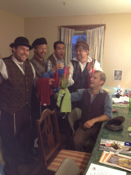 Photo Coverage: It's Intermission at FIDDLER, BIRDIE and 101 DALMATIANS!