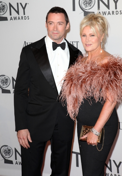 Hugh Jackman and Deborra-Lee Furness  at 2012 Tony Awards Red Carpet- Part 2!
