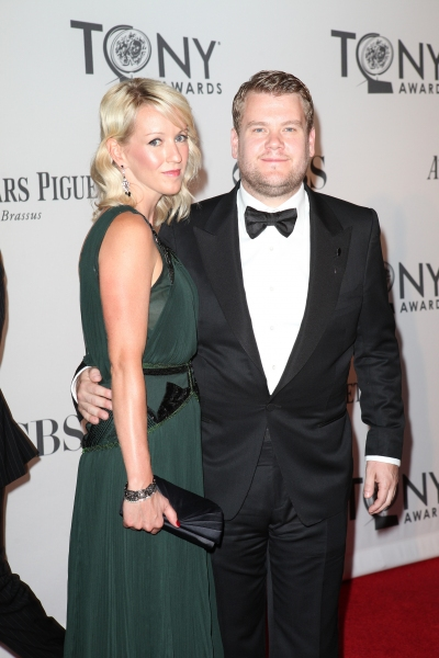 James Corden and Guest pictured at the 66th Annual Tony Awards held at The Beacon Theatre in New York City , New York on June 10, 2012. © Walter McBride / Retna Ltd at 2012 Tony Awards Red Carpet- Part 2!