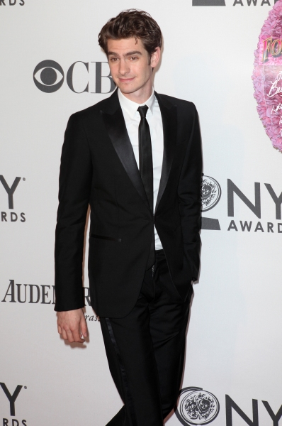 Andrew Garfield  at 2012 Tony Awards Red Carpet- Part 2!