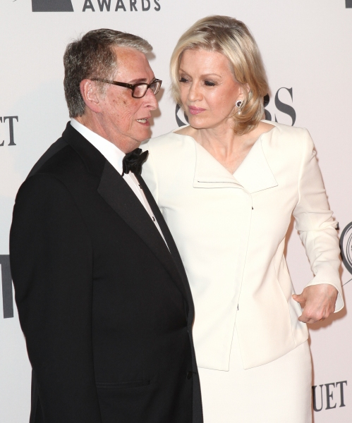 Mike Nichols and Diane Sawyer  at 2012 Tony Awards Red Carpet- Part 2!