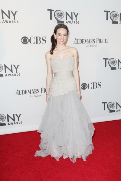 Elizabeth A. Davis  at 2012 Tony Awards Red Carpet- Part 3!