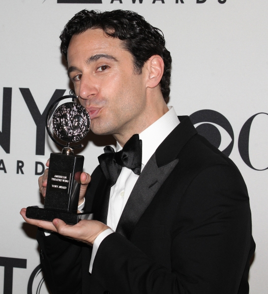 Christopher Gattelli  at Inside the Tonys Winners Room!