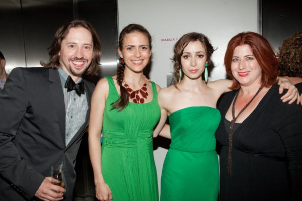 J. Michael Zygo, Andrea Goss, Cristin Milioti and Ann L. Nathan at ONCE Celebrates its Winning Night - Inside the Show's After Party!
