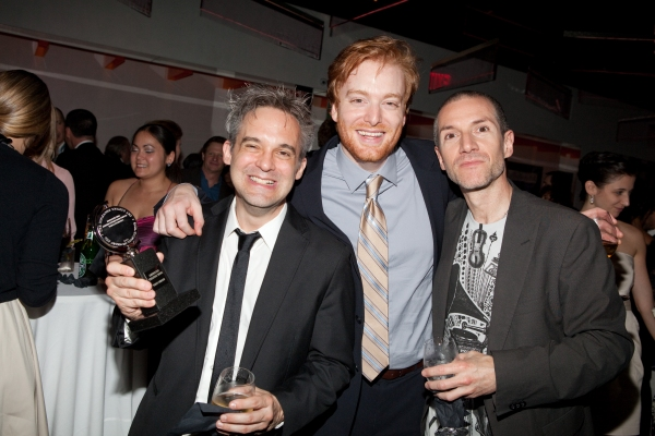 Martin Lowe, David Abeles and Rob Preuss
