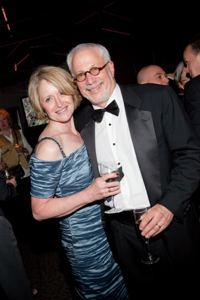 Robert Cole and his wife at ONCE Celebrates its Winning Night - Inside the Show's After Party!