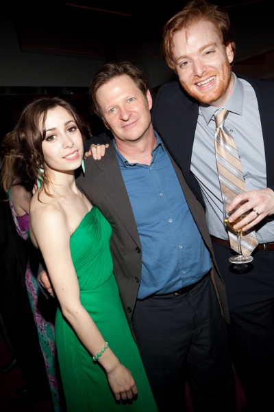 Cristin Milioti, Andy Taylor and David Abeles at ONCE Celebrates its Winning Night - Inside the Show's After Party!