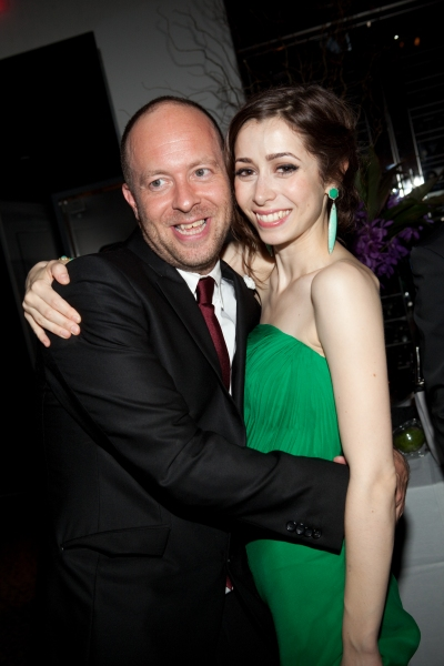 John Tiffany and Cristin Milioti at ONCE Celebrates its Winning Night - Inside the Show's After Party!
