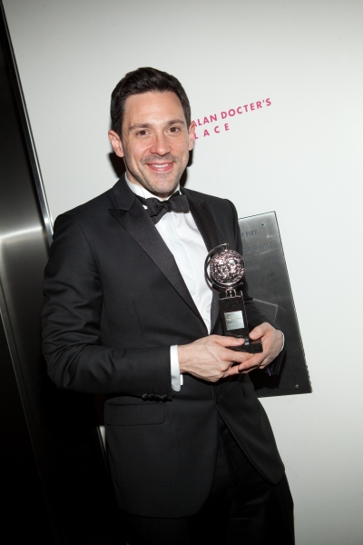 Steve Kazee at ONCE Celebrates its Winning Night - Inside the Show's After Party!