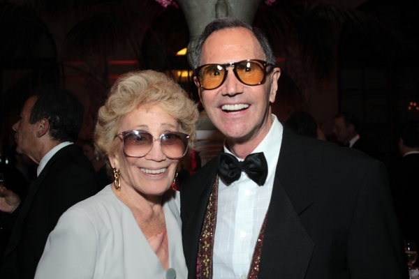Myrna Gershon, Freddie Gershon at Inside the Tony Ball at the Plaza Hotel - Audra McDonald, Will Swenson, Neil Patrick Harris & More!