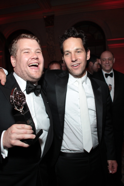 James Corden, Paul Rudd at Inside the Tony Ball at the Plaza Hotel - Audra McDonald, Will Swenson, Neil Patrick Harris & More!