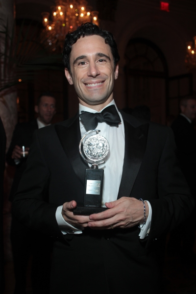 Christopher Gattelli at Inside the Tony Ball at the Plaza Hotel - Audra McDonald, Will Swenson, Neil Patrick Harris & More!