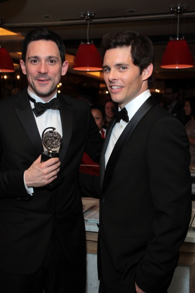 Steve Kazee, James Marsden at Inside the Tony Ball at the Plaza Hotel - Audra McDonald, Will Swenson, Neil Patrick Harris & More!