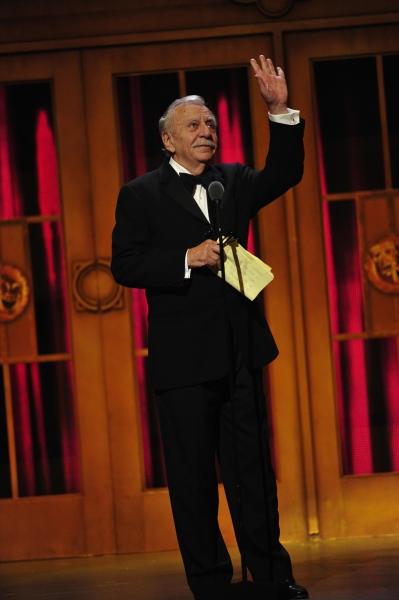 Emanuel Azenberg, recipient of the Tony Lifetime Achievement Award