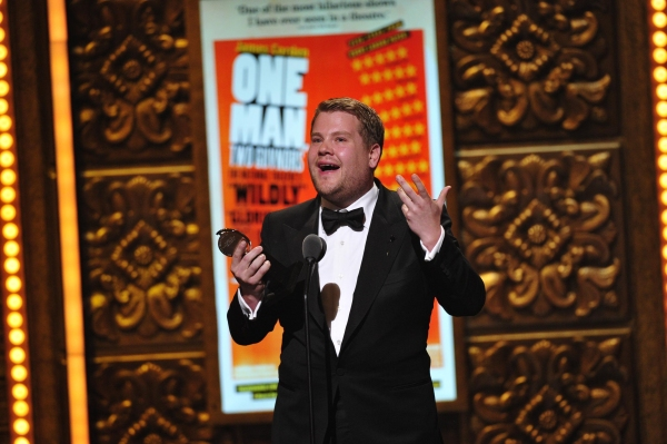James Corden from 'One Man, Two Guvnors'