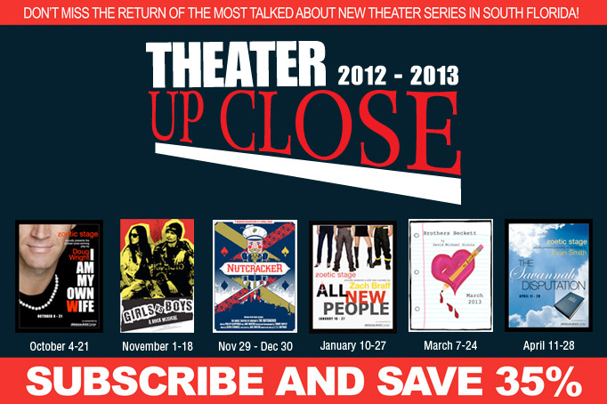 The ARSHT Center Announces New Season Of THEATER UP CLOSE