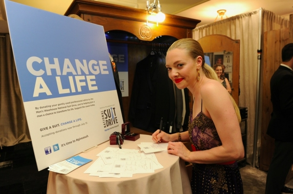 Amanda Seyfried at Backstage at the Tony Awards 'Celebrity Retreat' With Patti LuPone, Amanda Seyfried and More!