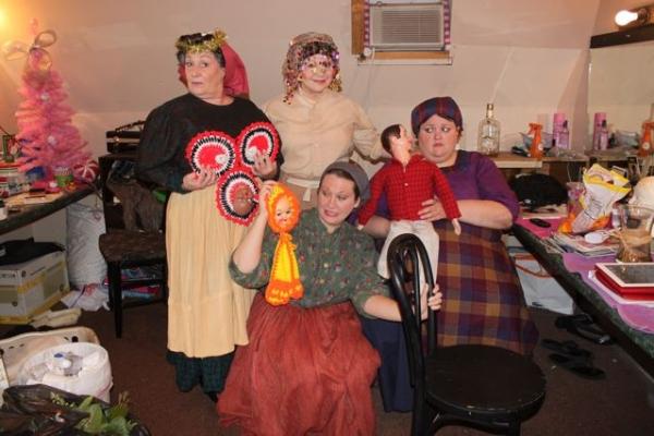 (Clockwise from left): Debbie Kraski, Liz Kalota, Amanda Lamb and Jaclyn Lisenby Brow Photo