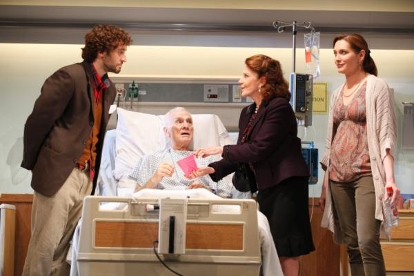 Charlie Hofheimer, Dick Latessa, Linda Lavin and Kate Jennings Grant  Photo