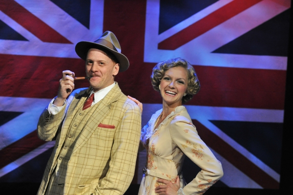 Photo Flash: Toby Miller, Jim Shine, David Thornton & Laura Cable in Sierra Rep's THE 39 STEPS