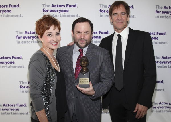 Annie Potts, Jason Alexander and Scott Bakula at The Actors Fund Honors Jason Alexander with Julie Harris Award for Lifetime Achievement