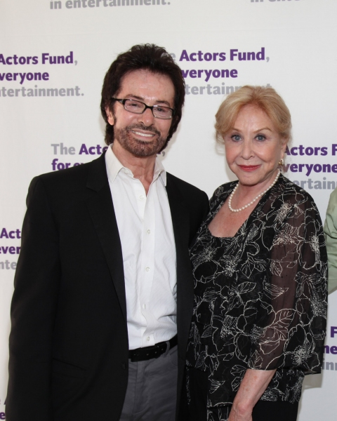 George Chakiris and Michael Learned at The Actors Fund Honors Jason Alexander with Julie Harris Award for Lifetime Achievement