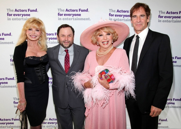 Loni Anderson, Jason Alexander, Ruta Lee and Scott Bakula at The Actors Fund Honors Jason Alexander with Julie Harris Award for Lifetime Achievement