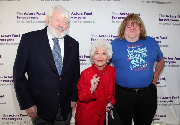 Theo Bikel, Charlotte Rae and Bruce Vilanch at The Actors Fund Honors Jason Alexander with Julie Harris Award for Lifetime Achievement