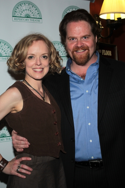 Nancy Anderson, John Treacy Egan at Brian Stokes Mitchell, Melissa Errico, James Barbour & More Celebrate The Irish Rep in OLIVER!