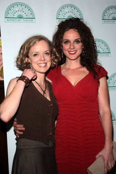 Nancy Anderson, Melissa Errico at Brian Stokes Mitchell, Melissa Errico, James Barbour & More Celebrate The Irish Rep in OLIVER!