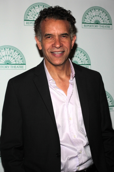 Brian Stokes Mitchell at Brian Stokes Mitchell, Melissa Errico, James Barbour & More Celebrate The Irish Rep in OLIVER!