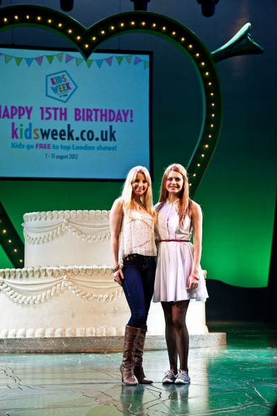 Sophie Evans at Society of London Theatre Launches The 2012 KIDS' WEEK With SHREK, TOP HAT, SPAMALOT And More!