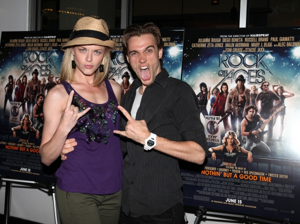 Photo Coverage: Broadway Celebrates ROCK OF AGES Film in Times Square