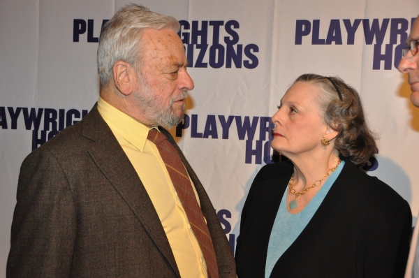Stephen Sondheim and Dana Ivey at James Lapine, Bruce Norris, Stephen Sondheim Honored at Playwrights Horizons Gala!