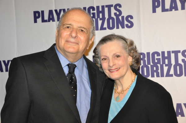 Alfred Uhry and Dana Ivey at James Lapine, Bruce Norris, Stephen Sondheim Honored at Playwrights Horizons Gala!