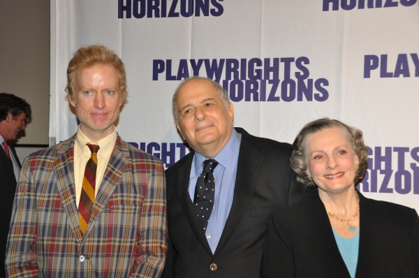 Evan Smith, Alfred Uhry and Dana Iver Photo