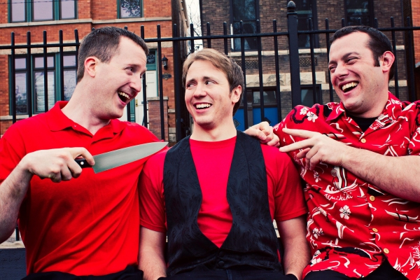 Danny (Rob Speer), Jesse (James Dolbeare) and Joey (Chris Gorton)