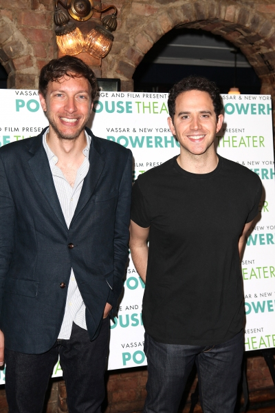 Michael Friedman & Santino Fontana at New York Stage & Film Celebrates 2012 Launch - Chloe Sevigny & More!