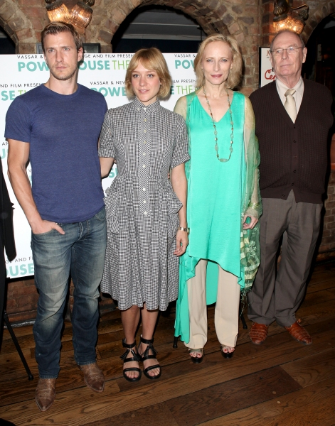 Director David Esbjornson, actors Patrick Heusinger, Chloe Sevigny, Laila Robins and Paxton Whitehead