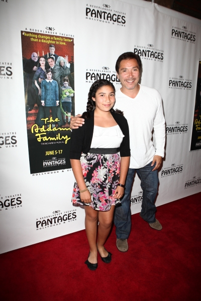 Benito Martinez and daughter