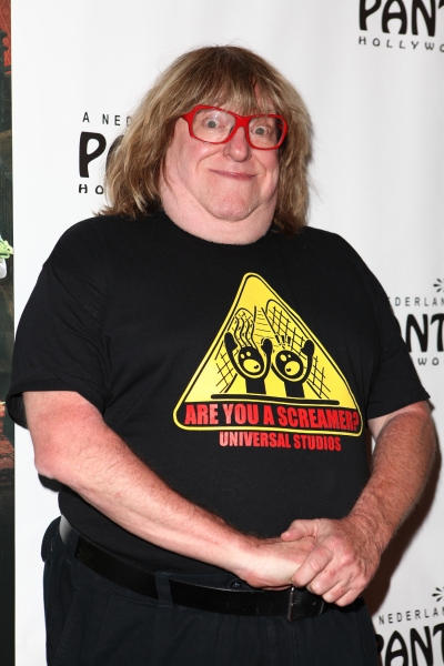 Bruce Vilanch at THE ADDAMS FAMILY's Opening Night at Pantages Theatre!