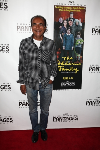 Iqbal Theba at THE ADDAMS FAMILY's Opening Night at Pantages Theatre!