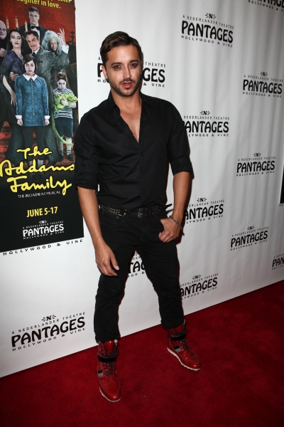 Jai Rodriguez at THE ADDAMS FAMILY's Opening Night at Pantages Theatre!