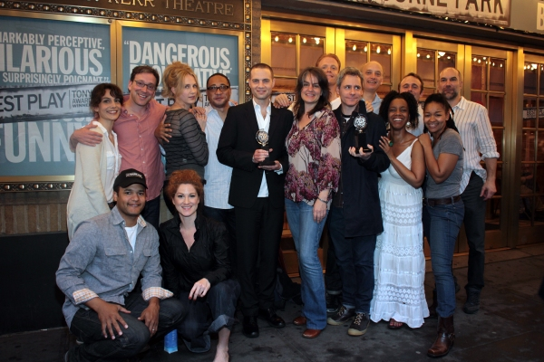 Photo Coverage: CLYBOURNE PARK Celebrates Tony Success with Champagne Toast